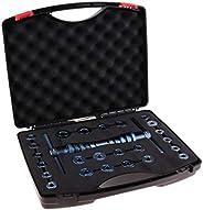 1 Set (25Pcs) Bicycle Bearing Press Kit Installation Tool with Case, Bike Bottom Bracket Hub Bearing Removal &