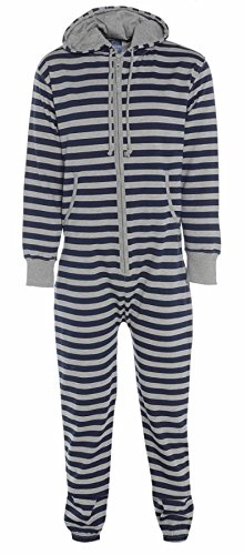 Striped Navy/Grey xlarge