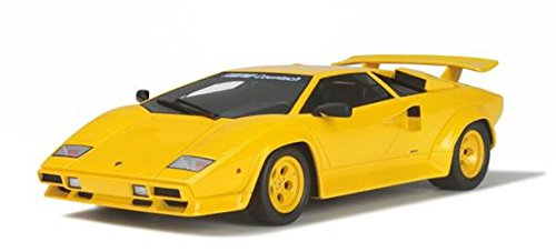 Lamborghini Koenig Countach Twin Turbo Yellow Limited Edition 1/18 by GT Spirit for Kyosho ()