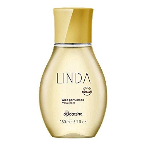 Linha Linda Boticario - Oleo Corporal Perfumado 150 Ml - (Boticario Linda Collection - Perfumed Body Oil 5.07 Fl - Collection Linda