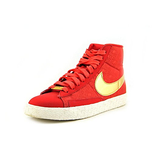 Blazers Nike Gold (NIKE WMNS Blazer Mid YOTH Year of The Horse - Red (631663-607) Womens Shoes)