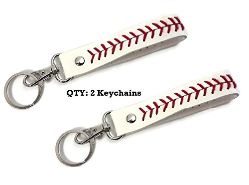 No Excuses Gear Baseball Keychain by SagamoreBridge (2 per Package)
