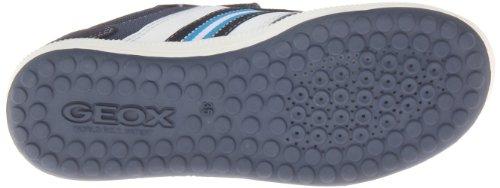 Geox J Vita A - Zapatillas de Deporte de tela niño azul - Bleu (Navy/Sky)