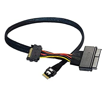 U.2 U2 SFF-8639 NVME PCIe SSD Cable for Mainboard Intel SSD 750 p3600 p3700 M.2