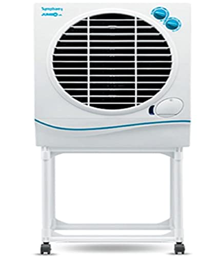 Symphony Jumbo 41 Ltrs Air Cooler (White) - with Trolley