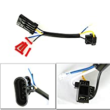 TURBO SII 5-3/4 inch 7inch LED Headlight Wire Harness Adapter For 2014 2015 2016 Harley Davidson Daymaker