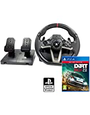 Volant et pédales PS4 Originale Sous licence PlayStation 4 RWA Apex + DIRT Rally 2.0