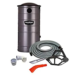 VacuMaid UV150CKP1 Extended Life Wall Mounted Commercial Vacuum with 50 ft. Car Care Kit (Unit and Kit Plus 1 Inlet)