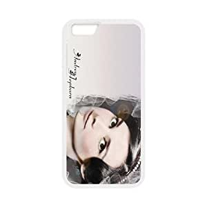 Audrey Hepburn For iPhone 6 Plus 5.5 Inch Cell Phone Case White Ixnsq7178114