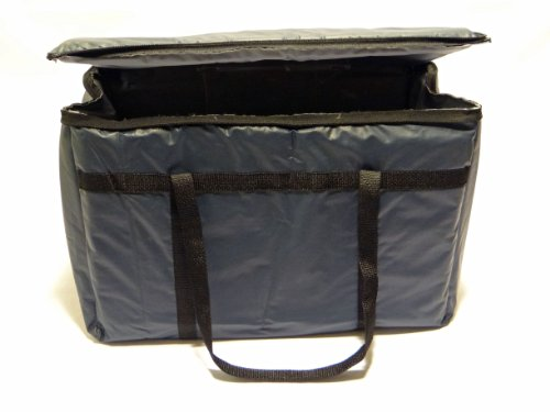 Phoenix 13-Inch by 11-Inch by 10-Inch Insulated delivery bags, Dark blue