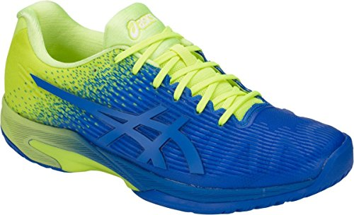 ASICS Solution Speed FF Mens Tennis Shoe (Imperial/Flash Yellow) (11)