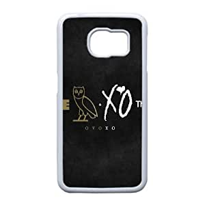 Designed With The Weeknd Xo Pattern , Fit To Samsung Galaxy S6 Edge
