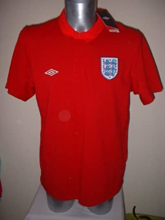 d2f47cd9b45 England BNWT Polo Leisure Shirt Jersey Football Soccer Adult XL Top Umbro World  Cup New: Amazon.co.uk: Sports & Outdoors