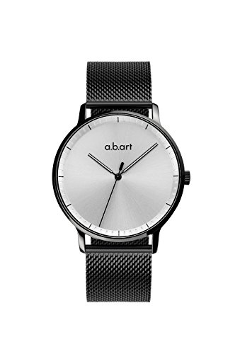 a.b.art Touch X New Design Intelligent Analog Men Watch (Silver) - Swiss Design Watch
