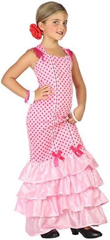 Atosa-39392 Disfraz Flamenca, Color Rosa, 7 a 9 años (39392 ...