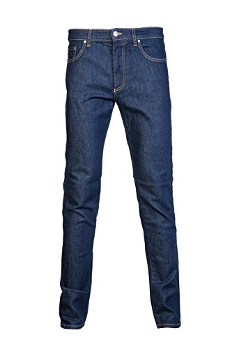 Versace Collection V600280A Stretch Slim Fit Dark Blue Jeans W36