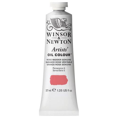 Rose Oil Painting (Winsor & Newton Artists Oil Color Paint Tube, 37ml, Rose Madder Genuine)