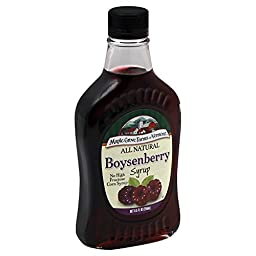 Maple Grove Farms Syrup Natural Boysenberry 8.5 OZ