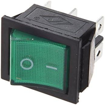 AC 125V 6A amplificatori ON//ON 2 Posizione DPDT Interruttore 2-5 PZ UK