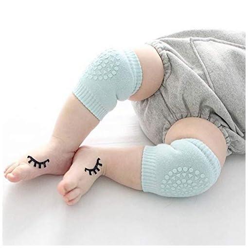 1 Pair Baby Crawling Knee Pads Safety Anti-slip Walking Leg Elbow Protector Soft