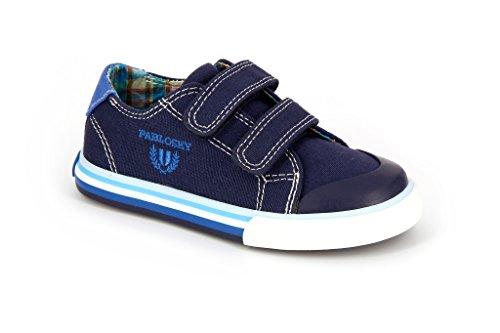 Pablosky 932420 - Zapatillas con velcro infantiles Azul Marino