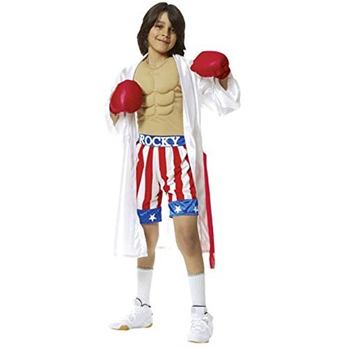 Childs Rocky Movie Costume, Size Youth Small 4-6
