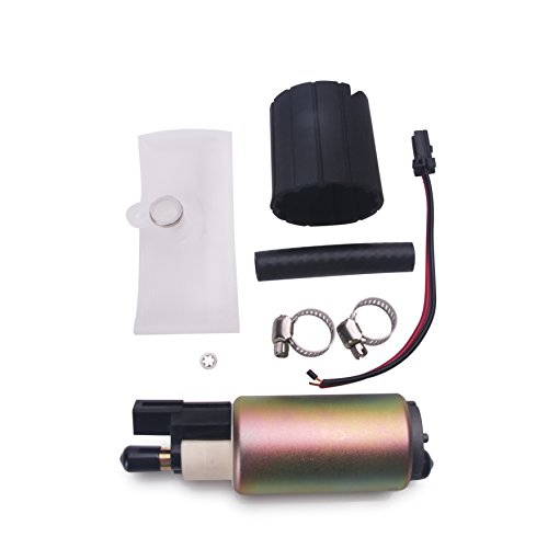 CUSTONEPARTS New High Performance Aftermarket Electric Intank Fuel Pump With Installation Kit E2157 ()