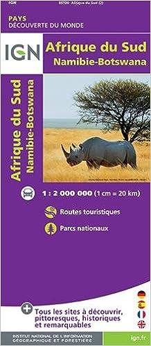 85120 AFRIQUE DU SUD/SWAZILAND/LESOTHO 1/2M