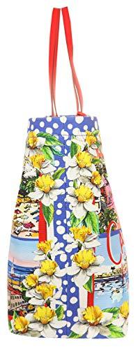 b9f57 Shopper Gabbana Shopping Damen Canvas Blau Cannes Bb6191 Dolceamp; m8nON0vw