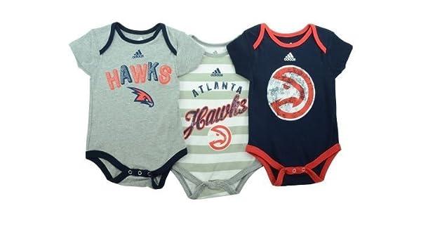 bbfb6aa52 Amazon.com  Atlanta Hawks Infants Baby NBA Creeper