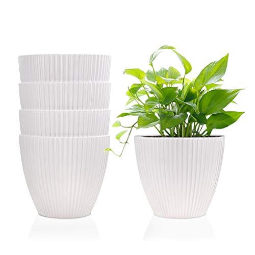 6 Inch Plastic Planters Indoor F...