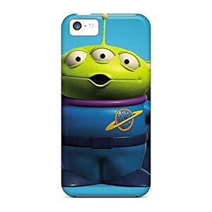New AiV8696WVuH Toy Story 3 Skin Cases Covers Shatterproof Cases For Iphone 5c