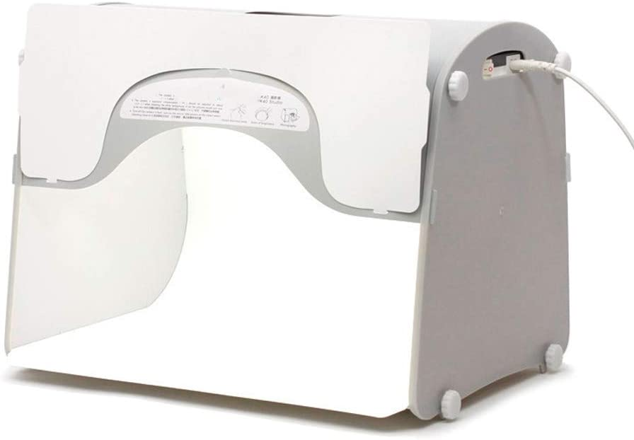 QWERTOUY Softbox Photo Studio Photography Light Box Portable Mini Photo Box MK40-LED for 220//110V EU US UK AU