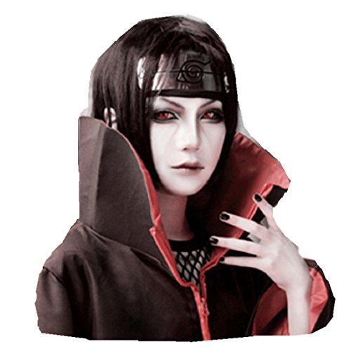 Naruto Uchiha Itachi cosplay costume wig