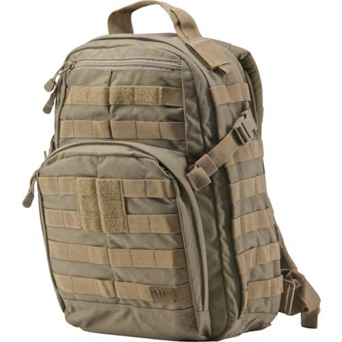 5.11 RUSH12 Tactical Military Assault Molle Backpack, Bug Out Rucksack Bag, Small, Style 56892, Sandstone by 5.11 (Image #9)