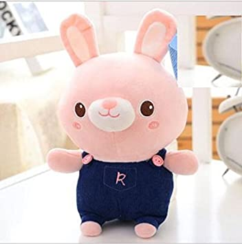 YOIL Lindo y Encantador Juguete Suave Peluches Adorable Juguete de Felpa de Conejo de Peluche de