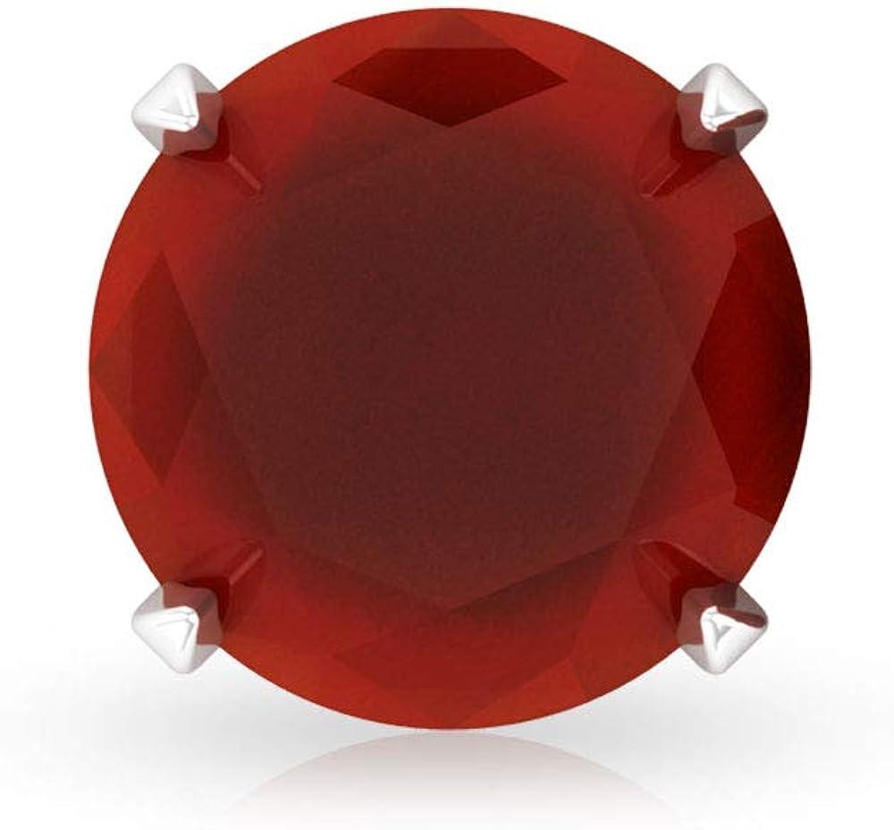 Pendientes de tuerca de ónix rojo certificado SGL de 0,80 ct, con piedras preciosas únicas de boda, pendientes clásicos de uso diario, regalos para el día de la madre, tornillo hacia atrás