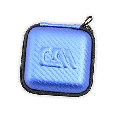 CASEMATIX Blue Kids Toy Case Compatible with Tamagotchi On Interactive Virtual Pet Game , Includes Case Only: Toys & Games