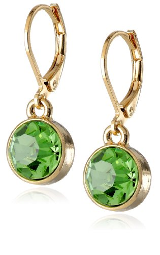 1928 JewelryBest of Times Gold-Tone Earrings