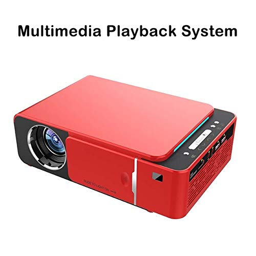 Android 9.0 WiFi Smart Support 1080p HD LED Mini proyector ...