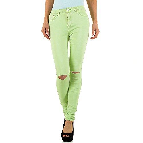 iTaL-dESiGn - Vaqueros - skinny - para mujer Verde