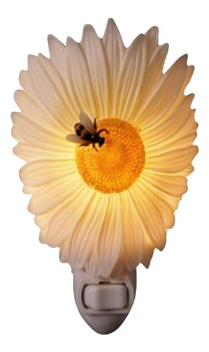 Daisy and Bee Nightlight - Ibis & Orchid Designs Flowers of Light Collection