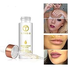 GARYOB Beauty Face Oil, Makeup Oil before Foundation Primer Moisturizing Face Skin 24k Rose Gold Elixir Oil 15 ml