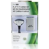 Kit Carga y Juega Generico Blanco Para Control Xbox 360 4800mAH
