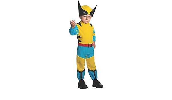 Disfraz de pequeño Lobezno Marvel para niño: Amazon.es: Ropa ...