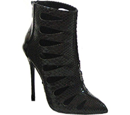 Fierce 31 Highest PU Heel Patent The Women's Black Bootie 7 Python Snake M US gwIIrtq
