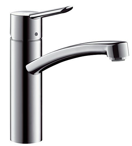 Hansgrohe Focus S Single Lever Kitchen Mixer for open hot water storage tanks 150° no. 31785000 by Hansgrohe