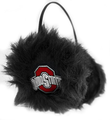 State Ear Warmer - NCAA Ohio State Buckeyes Furry Earmuffs