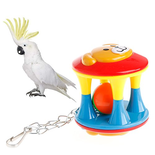 Parakeet Chew Toys : Kocome bird pet bites toy parrot chew play toys swing cage