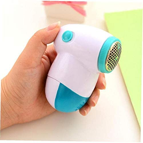 Portable Sweater Shaver Lint Remover Defuzzer Shaver Remove Fluff Lint and Bobbles for Clothes Fabric 1pc Blue Home Essential Tools